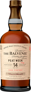 The Balvenie Peatweek 14 YO skotlantilainen viski, lasipullo