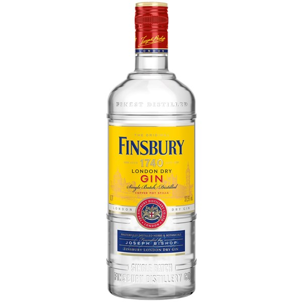 Finsbury London Dry Gin Single Batch 70 cl 0,7L pullo